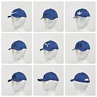 Бейсболка  (тонкий хлопок) синий