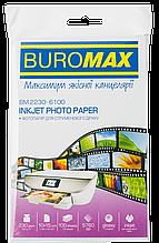 Фотобумага глянцевая, 10х15 см, 230 г/м², 100 л.  BM.2230-6100