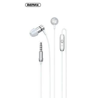 Дротові навушники REMAX RM-630 з мікрофоном Silver, фото 2