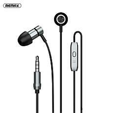 Дротові навушники REMAX RM-630 з мікрофоном Silver, фото 3