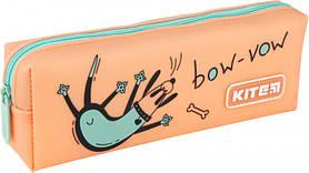 Пенал силиконовый для девочек Kite Education 1 отделение Оранжевый (K20-690-4)