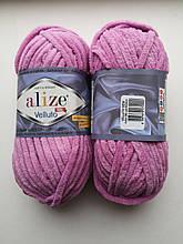 Пряжа Alize Веллуто Velluto (Ализе)  цвет 98 розовый