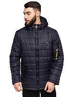 Мужская демисезонная стеганная куртка размеры 48-58