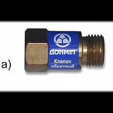 """Клапан зворотній """"ДОНМЕТ"""" ВБК G 3/8 До"""