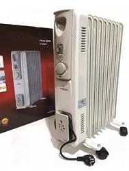 Обогреватель электрический, масляный радиатор CB-9S 2000W Crownberg