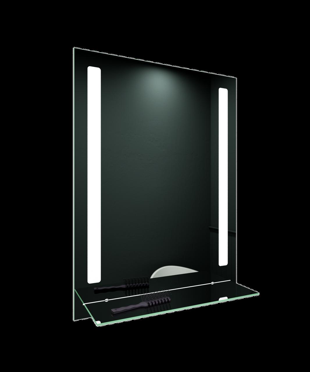 Зеркало LED (60*80*3см) PR-D53 с полкой