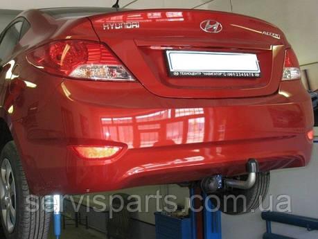 Фаркоп Hyundai Accent 2010-  (Хундай Акцент), фото 2