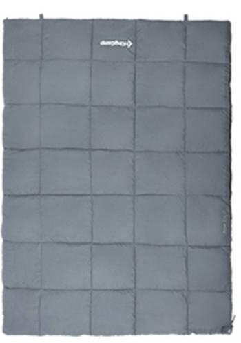 Прочный спальный мешок для двоих KingCamp ACTIVE 250 DOUBLE(KS3189) / 5°C, L Grey 94851 серый