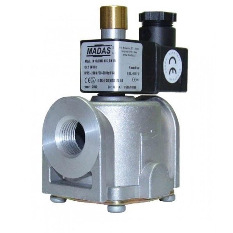 Клапан електромагн. М16/RMC N. A. DN25. P=500 mbar. 220 B