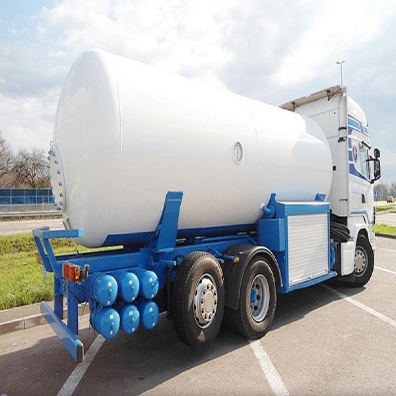Доставка газу (газовоз)