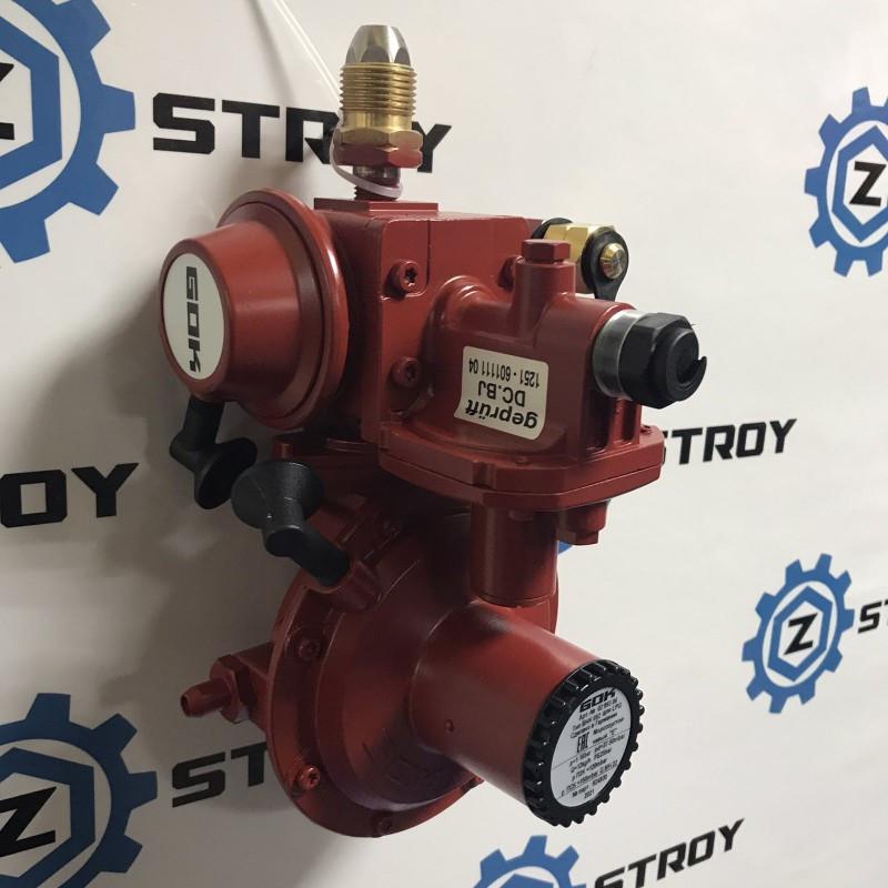 Регулятор тиску газу з ПСК POL * IG G 3/4 37-50 мбар 12 кг. год тип 052