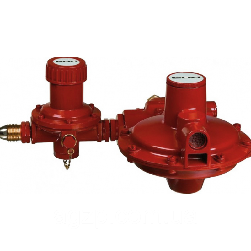 Регулятор тиску газу з ПСК POL * IG G1 50 мбар 24 кг. год