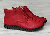 Женские ботинки кожаные 87 24pfm Р.36.37.38.39.
