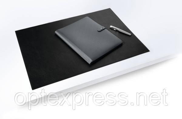 Кожаное настольное покрытие черное DURABLE 420 х300 мм