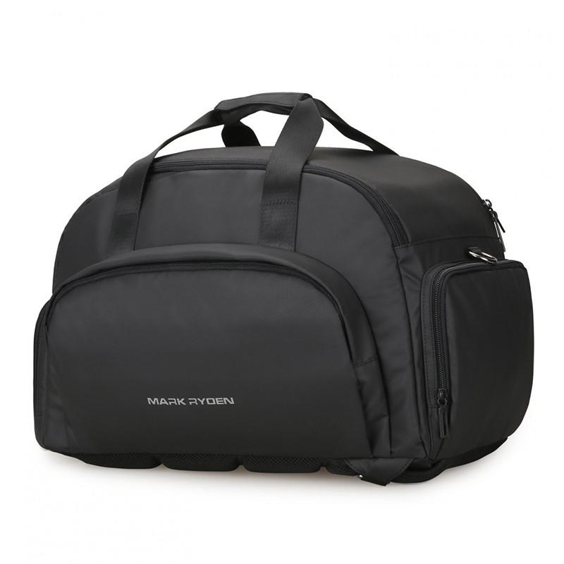 Maxtravel надійна містка і зручна дорожня сумка-рюкзак від Mark Ryden Дорожня сумка чорна