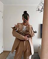 Женский яркий брючный костюм костюм-двойка в расцветках (Норма), фото 5