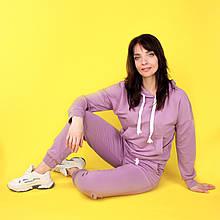 Костюм спортивний жіночий, худі і штани WAFA S-L