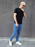Базова чоловіча футболка чорна