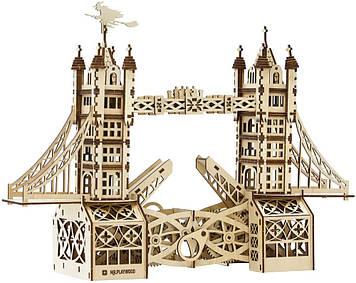 """Механічна Іграшка дерев'яна яна 3D-модель """"Тауерський міст"""" №10401/ПлейВуд/"""