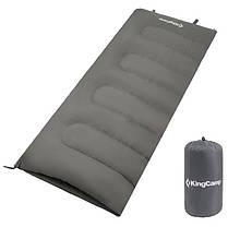 Спальник KingCamp Oxygen (KS3122) (grey,ліва)