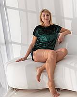 Домашня одяг жіночий костюм для дівчини шорти і футболка.