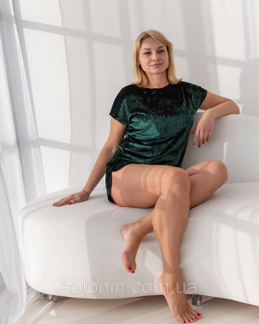 Женская домашняя одежда. Костюм для девушки шорты и футболка.