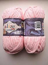 Пряжа Alize Веллуто Velluto (Ализе)  цвет 340 пудровый