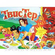 """Игра большая напольная """"Твистер"""" игровое поле, рулетка, стрелка, кнопка Danko Toys ДТ-БИ-07-13"""