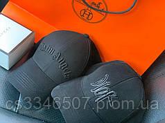 Брендовая бейсболка. Черная кепка (5 видов)