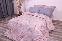 Комплект постельного белья Полуторный(150х205) Цветы Ранфорс от Brettani