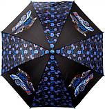 Зонт-трость Kite Kids Hot Wheel полуавтомат Черный (HW20-2001), фото 2
