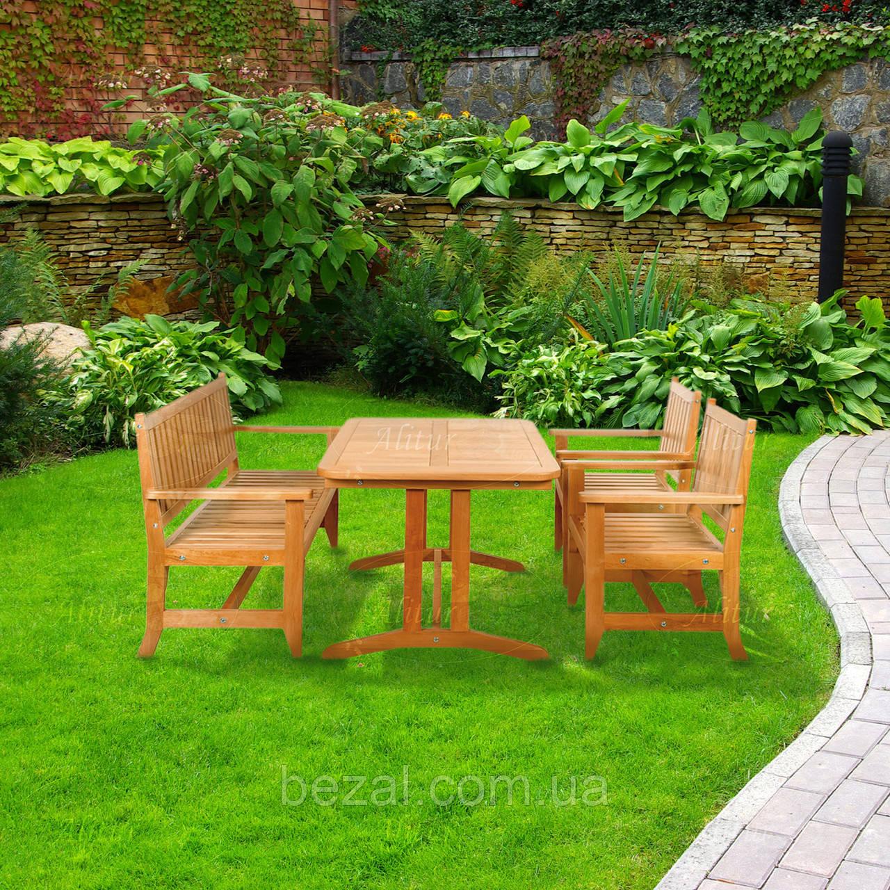 Стол деревянный садовый серии Гарден