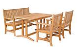 Стол деревянный садовый серии Гарден, фото 4