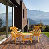Садовая деревянная мебель серии Релакс