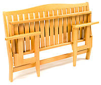 Скамейка складная деревянная садовая серии Компакт