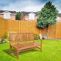 Скамейка деревянная садовая серии Гарден