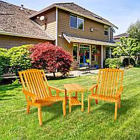 Кресло деревянное садовое серии Релакс