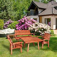 Стол деревянный садовый серии Лира