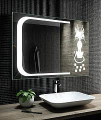 Зеркало LED (98*70*2.5см) VZ-AL-D47 с сенсором.