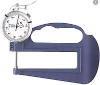 Толщиномер индикаторный стрелочный ТР-10 (0-10мм), цена дел. 0,01мм, L 120мм FOZI