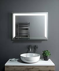 Зеркало LED (80*60*2,5см) VZ-AL-D35 с полкой