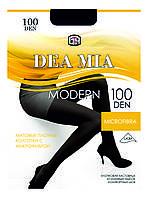 Колготки матовые плотные с микрофиброй DEA MIA MODERN 100 р.4, черный