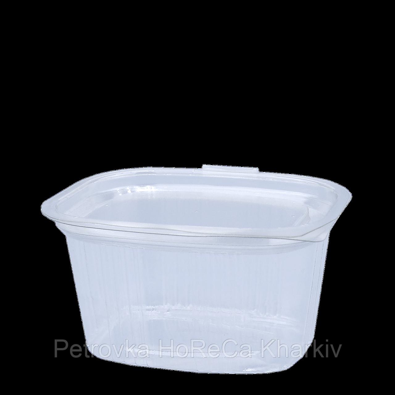 Соусница пластиковая FT209-80 80мл с откидной крышкой (уп/100шт)
