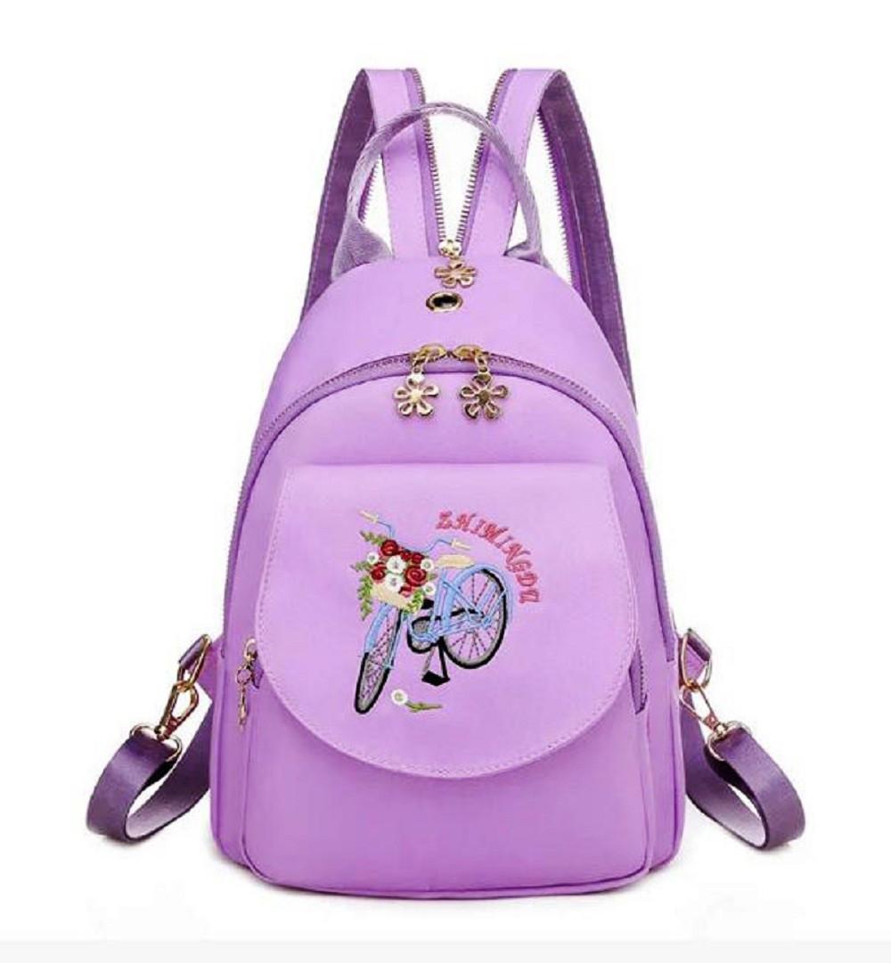 Підлітковий Рюкзак Zhimingda фіолетовий 6626