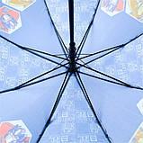 Зонт-трость Kite Kids Transformers полуавтомат Синий (TF20-2001), фото 4