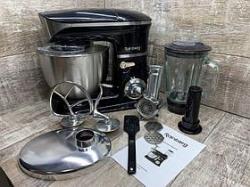 Кухонний комбайн тістоміс м'ясорубка блендер 3 В 1 Rainberg RB - 8080 2200 Вт