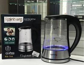 Чайник электрический электрочайник с LED подсветкой Rainberg RB-704