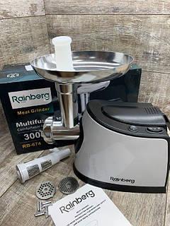 М'ясорубка Rainberg RB-674, 3000W