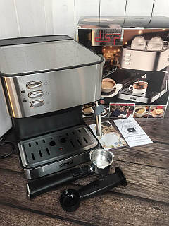 Кавова машина напівавтомат DSP Espresso Coffee Maker KA3028 з капучинатором