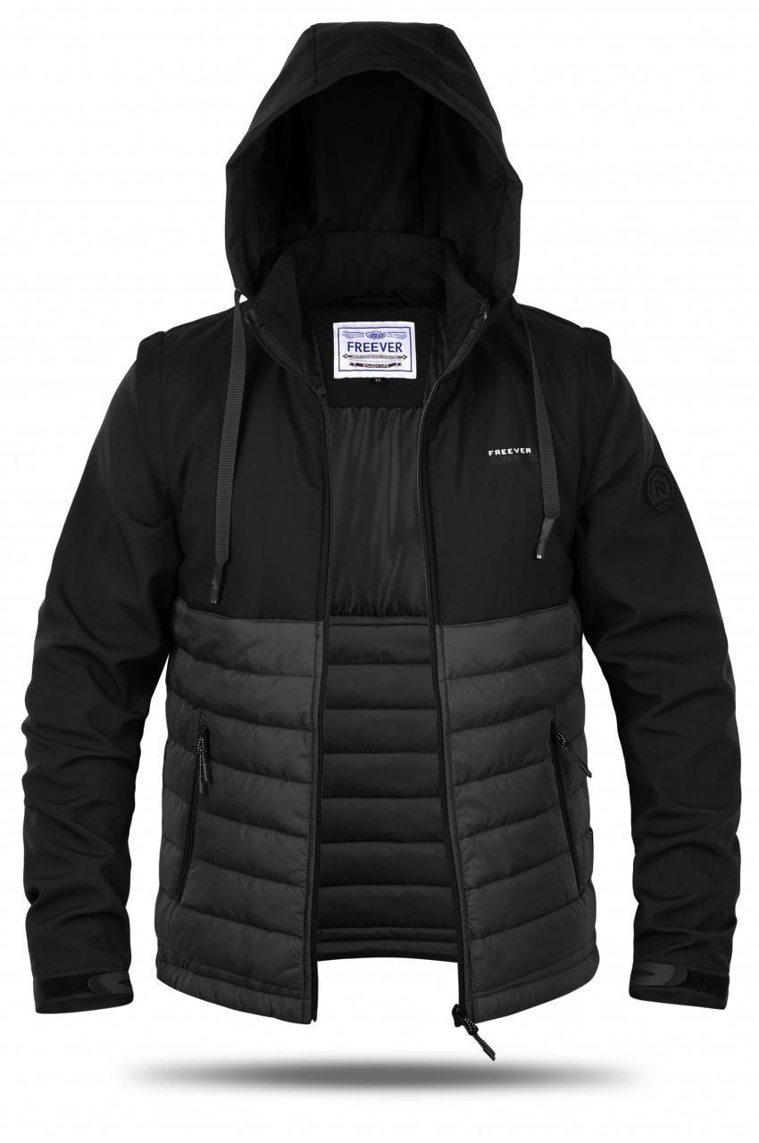 Куртка мужская трансформер Freever GF 8314 черная
